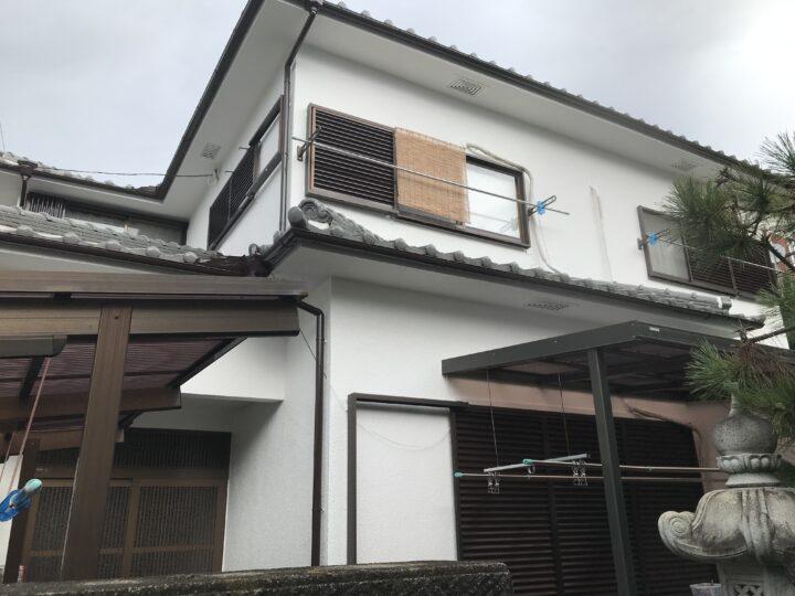 阪南市 外壁塗装工事 完工日:2020/9/1