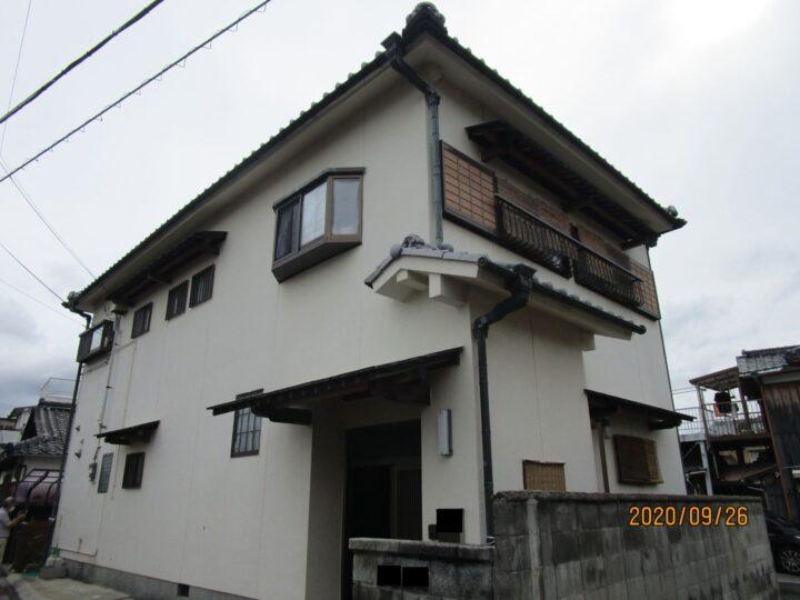 泉南市 外壁塗装工事 完工日:2021/4/16