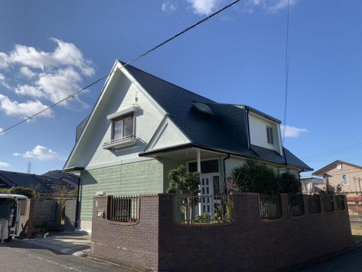 岬町 外壁塗装/屋根塗装工事 完工日:2019/12/28