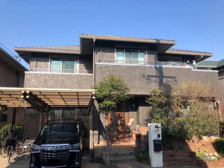 岸和田市 外壁塗装/屋根塗装工事 完工日:2020/12/9