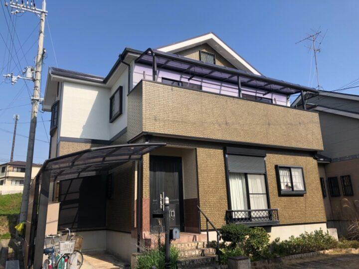 熊取町 N様邸 外壁塗装 屋根塗装 20210310