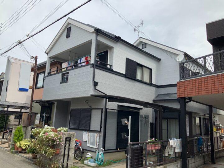 泉大津市 H様邸 外壁塗装 屋根塗装 20210522