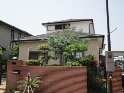 岸和田市 O様邸 外壁塗装 20210428