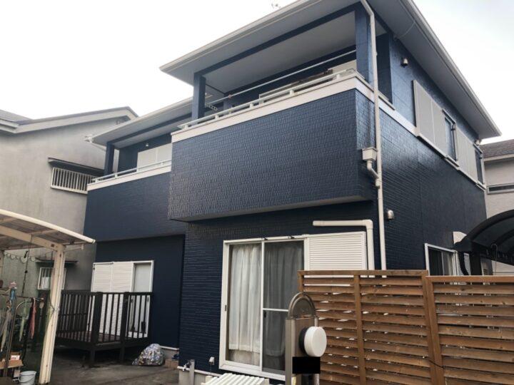 泉佐野市 外壁塗装/屋根塗装工事 完工日:2021/2/4