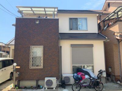 岸和田市 F様邸 外壁塗装 屋根塗装 20210609