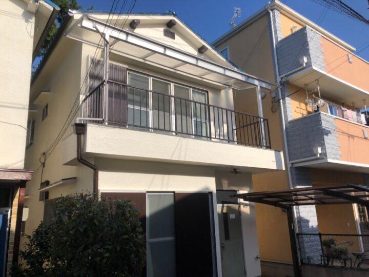 岸和田市 S様邸 外壁塗装 20210311