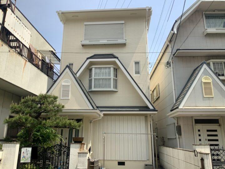 岸和田市 I様邸 外壁塗装 屋根塗装 20210423