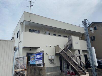 阪南市 Sハイツ様邸 外壁塗装 20210628