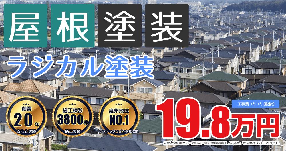 ラジカルプラン塗装 21.8万円
