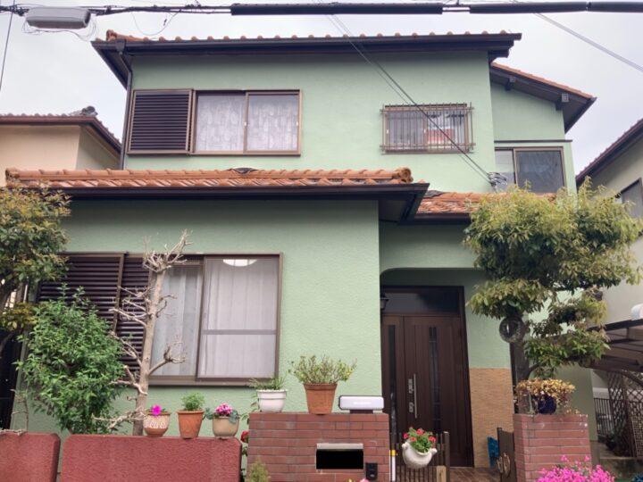 泉南市 外壁塗装工事 完工日:2021/4/3